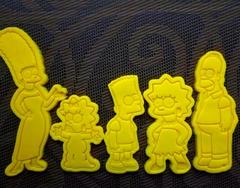 Набор Симпсоны форма для пряника