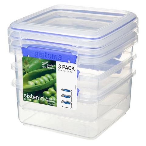 Набор контейнеров KLIP IT 1,2 л (3 шт.)