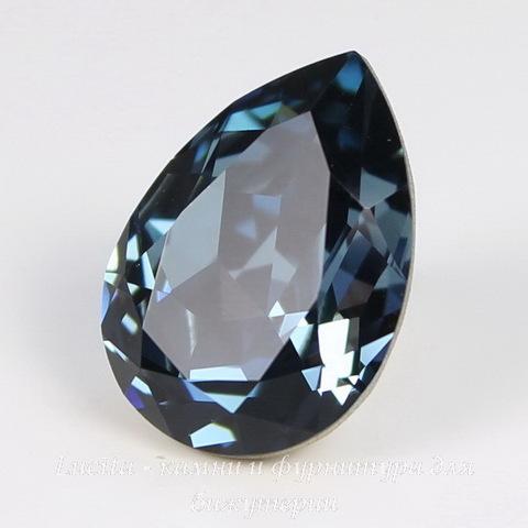4320 Ювелирные стразы Сваровски Капля Denim Blue (18х13 мм) ()