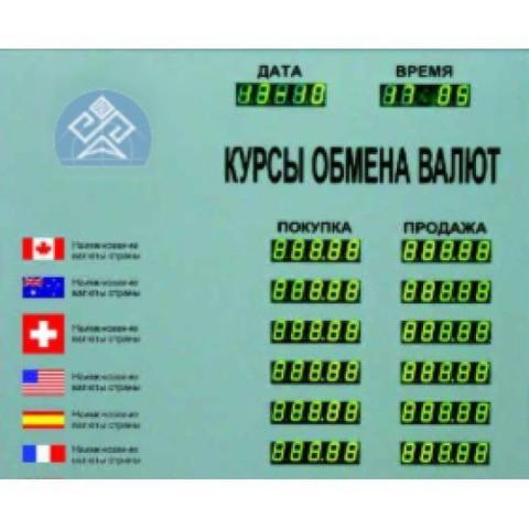 Табло курсов валют Kobell TEK 10