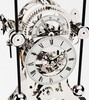 Часы-скелетон настольные Comitti S236S The Rhodium Plated Grasshopper