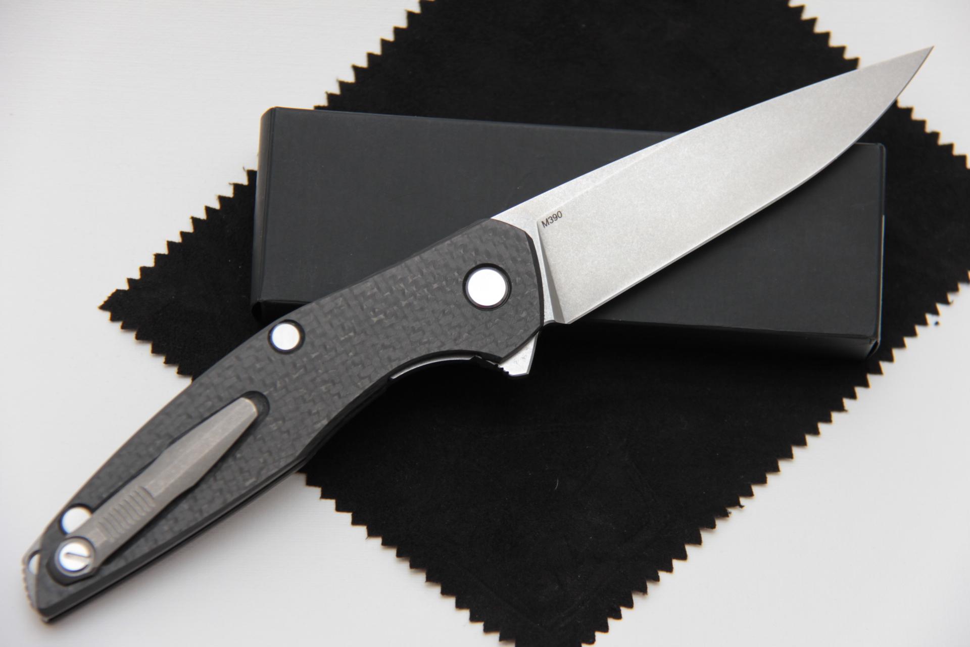 Нож Широгоров 111 карбоновая рукоять М390