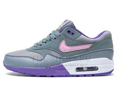 Кроссовки Женские Nike Air Max 87 Grey Violet Pink