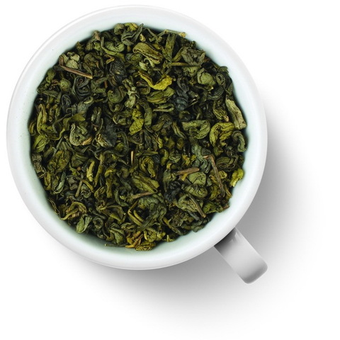 Зеленый чай с мятой (ганпаудер) 100 гр. Чай Gutenberg ароматизированный