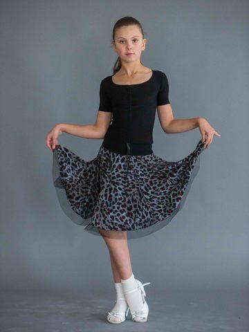 Детский топ для танцев c регулировкой арт. 408