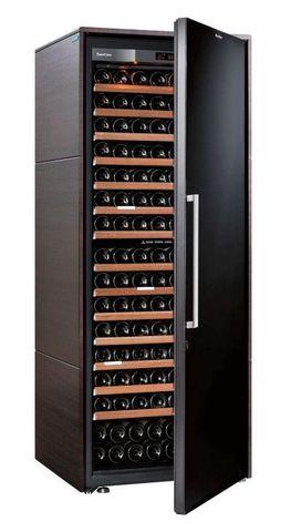 Винный шкаф EuroCave S Collection L венге, сплошная дверь, максимальная комплектация