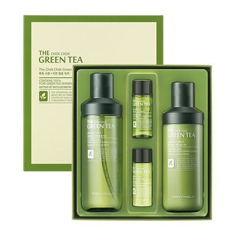 Подарочный набор TONYMOLY The Chok Chok Green Tea Watery Set