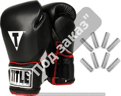 Перчатки TITLE BOXING POWER WEIGHTED SUPER BAG GLOVES
