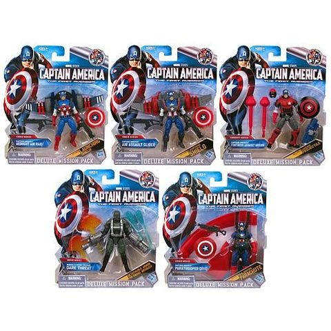 Captain America Deluxe Figure Series 02 Revision 02