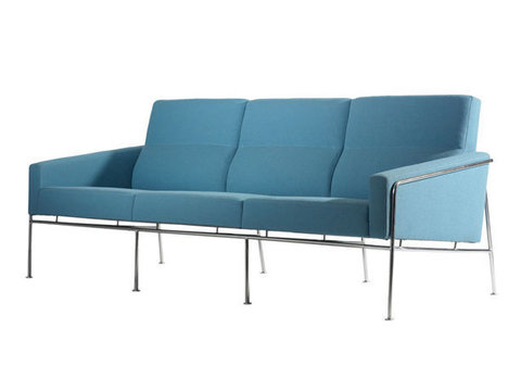 диван Arne Jacobsen Series 3300 3 seats sofa