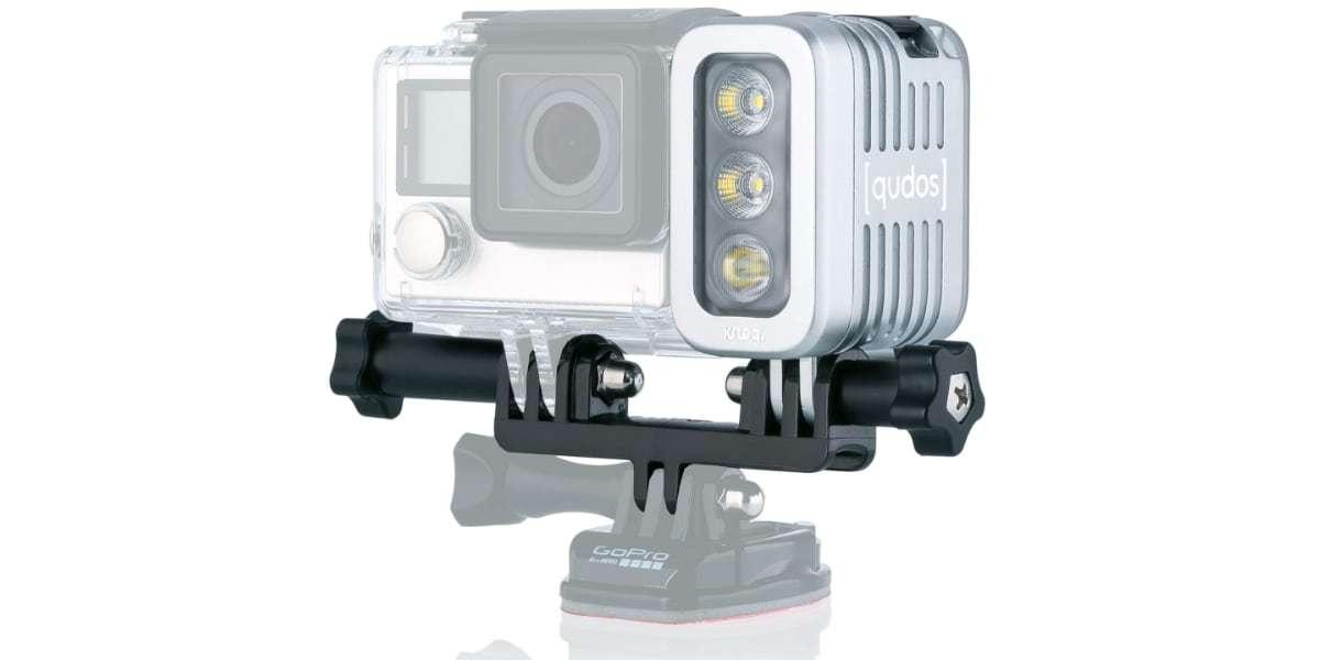 Фонарь LED Knog Qudos Action Light на креплении с камерой
