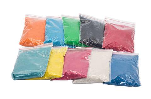 Цветной песок (набор 10 цветов по 1 кг.)