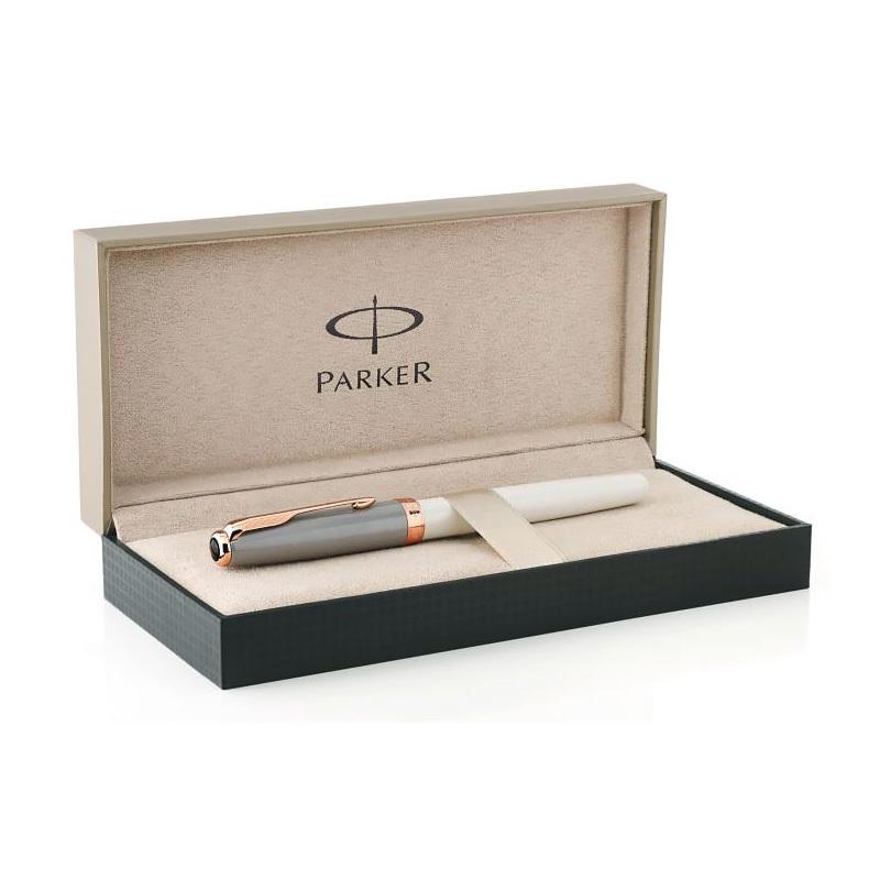Parker Sonnet - Subtle Pearl & Grey, перьевая ручка, F