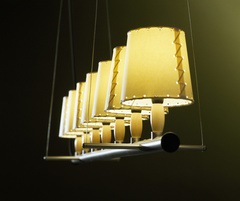 Gabriel Ordeig Cole Fonda Europa Lamp  for Santa & Cole