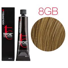 Goldwell Topchic  8GB (песочный светло-русый) - Cтойкая крем краска 60мл