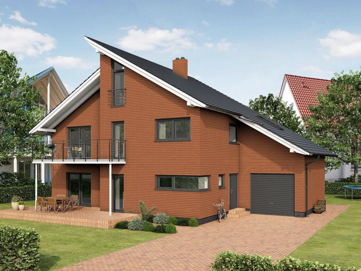 Feldhaus Klinker - R227NF9, Classic Terracotta Rustico, 240x9x71 - Клинкерная плитка для фасада и внутренней отделки
