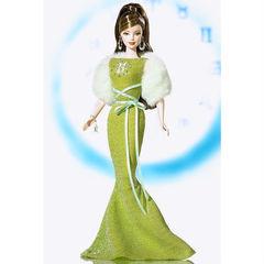 Коллекционная Кукла Барби Близнецы 20 июня - 20 июля (Gemini June 20 - July 20) - Знаки Зодиака, Mattel