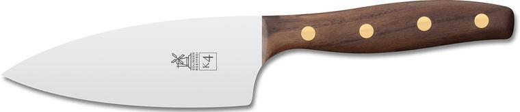 """Нож поварской """"Шеф"""" Windmuhlenmesser K4 Kochmesser, 130мм (грецкий орех)"""