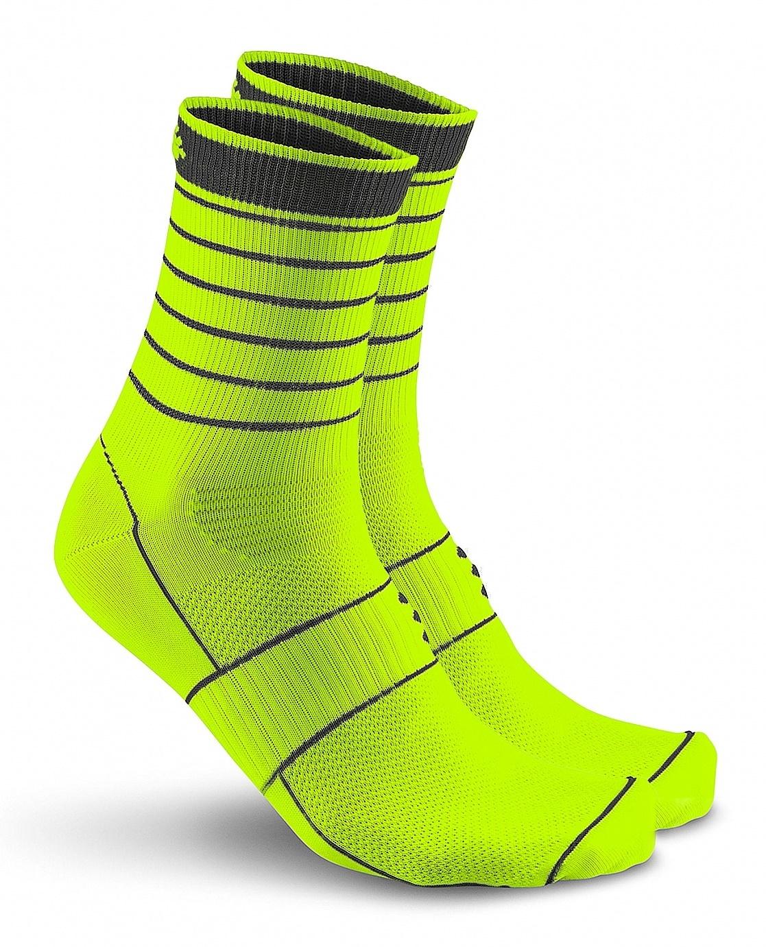 Носки для бега Craft Active Glow (1904086-2851) лайм