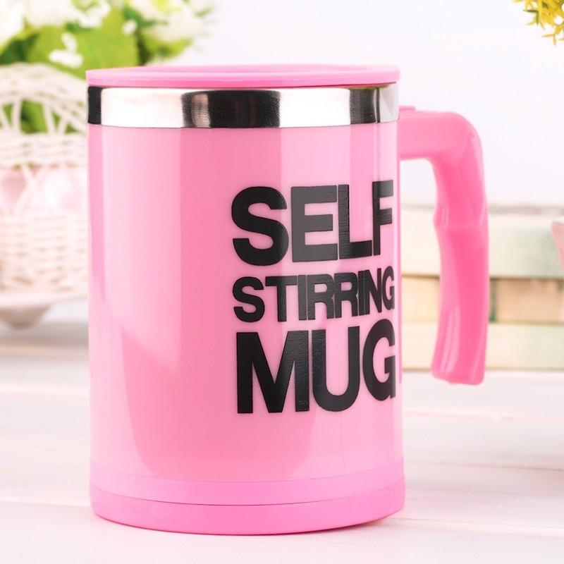 Розовый вариант цвета Self Stirring Mug