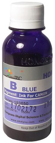 Чернила Dctec для Canon Pixma PRO, пигментные фото голубые (Blue), 100 мл (Серия 193650)
