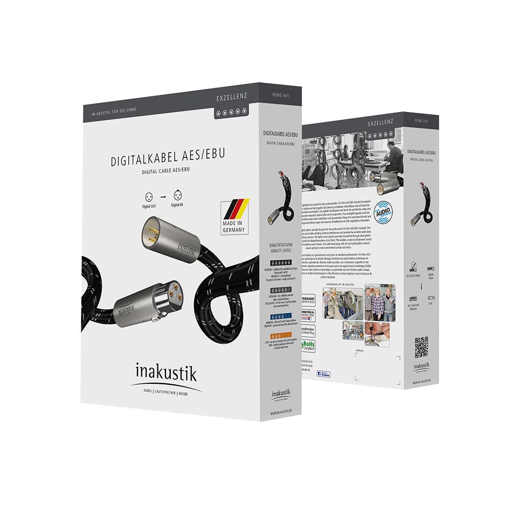 Inakustik Exzellenz Digital Cable, AES\EBU, 1.5 m, 006051015
