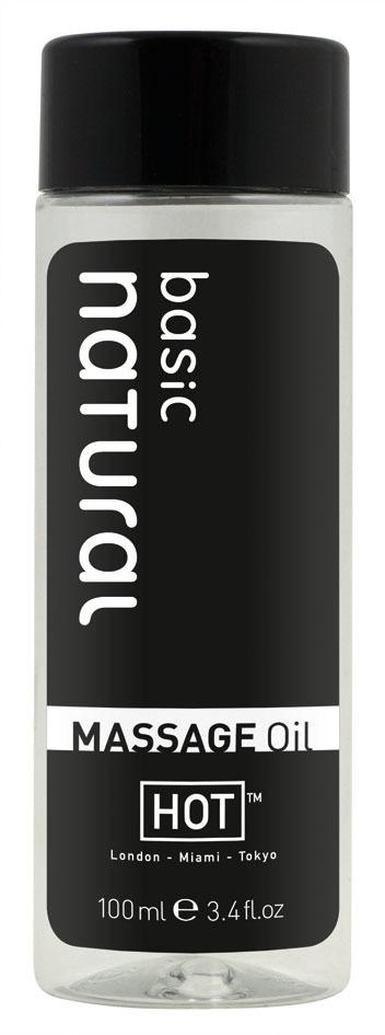 Массажные масла и свечи: Массажное масло для тела Natural Basic - 100 мл.