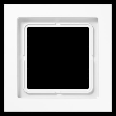 Рамка на 1 пост. Цвет Белый. JUNG LS - ДИЗАЙН. LSD981WW