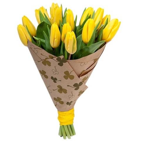 15 тюльпанов в оформлении #19181