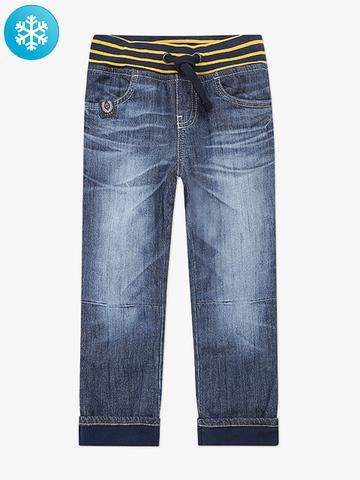 BWB000014 джинсы для мальчиков утепленные, медиум