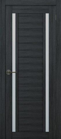 Дверь APOLLO DOORS F3, стекло матовое, цвет дуб серый, остекленная