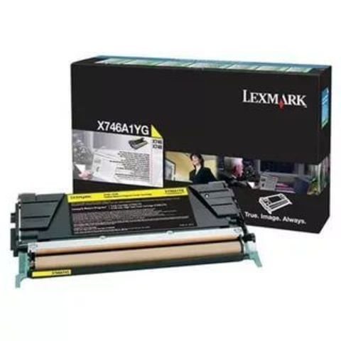 Картридж для принтеров Lexmark X746de черный (black). Ресурс 12000 стр (X746A1YG)