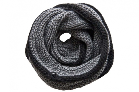 Снуд 0176 SNUDY LARGE YARN ART-1488EB3 COL-NERO-9500