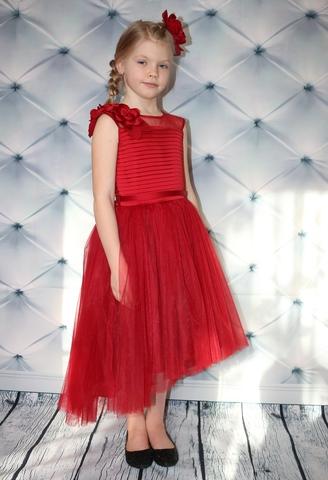 Бордовое нарядное платье Beggi Ceremony (арь.9828)