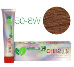 CHI Ionic 50-8W (Средний теплый блондин) - стойкая краска для волос
