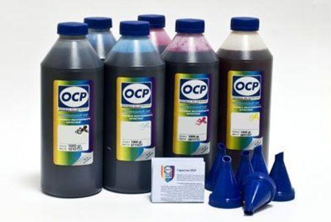 Комплект чернил ОСР для Epson Expression Home XP-600, 605, XP-700, 800. (OCP BKP 115, BK 140, C 142, M 140, Y 140) 5 х 1000мл