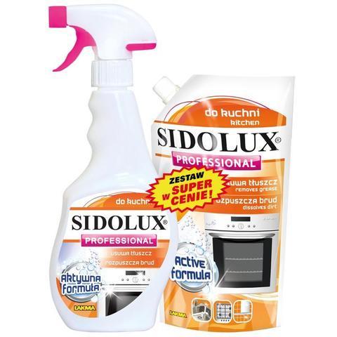 Промосмотка SIDOLUX Professional 500мл для кухни + зап.блок 500мл