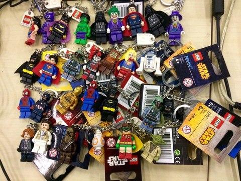 LEGO брелок в ассортименте