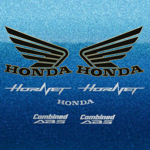 Набор виниловых наклеек на мотоцикл HONDA CB600F HORNET 2013