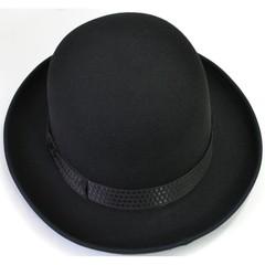 Фетровая шляпа-котелок, женская