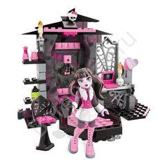 Игровой набор Monster High Вампиростическая комната Дракулауры - Draculaura's Vamptastic Room, Mega Bloks