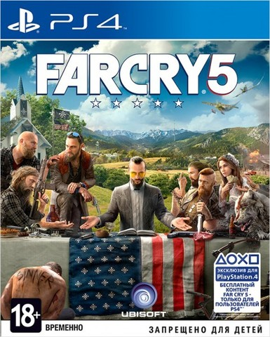 Sony PS4 Far Cry 5 (русская версия)