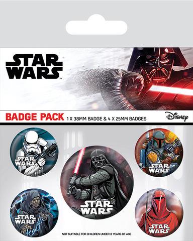 Набор значков Star Wars