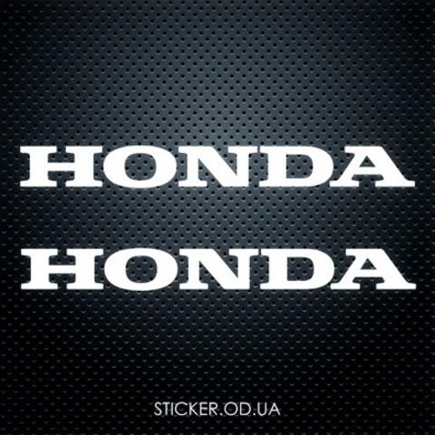 Набор наклеек на мотоцикл Honda