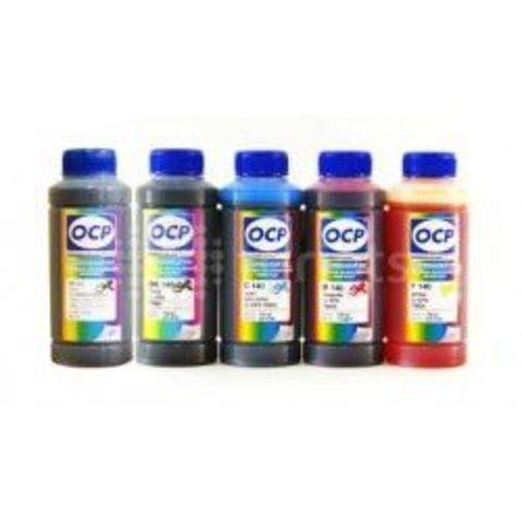 Комплект чернил ОСР для Epson Expression Home XP-600, 605, XP-700, XP-800. (OCP BKP 115, BK 140, C 142, M 140, Y 140) 5 х 100мл
