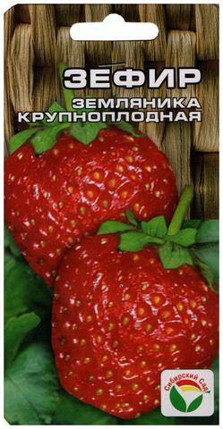 Семена Земляника Зефир