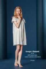 Сорочка Celestine Georgia-1 BD серебристая