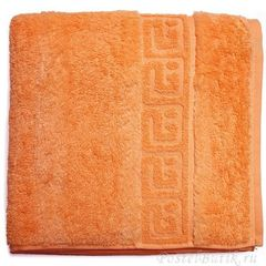 Полотенце 50x100 Cawo Noblesse 1001 ярко-оранжевое
