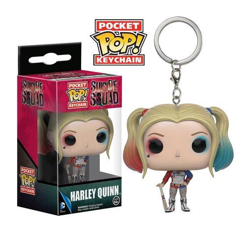 Брелок Funko Pocket POP! Keychain: Suicide Squad: Harley Quinn