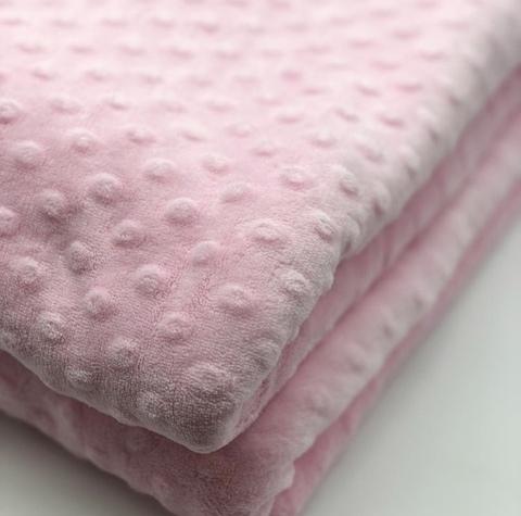 Плюш Minky (100% полиэстер) Розовый